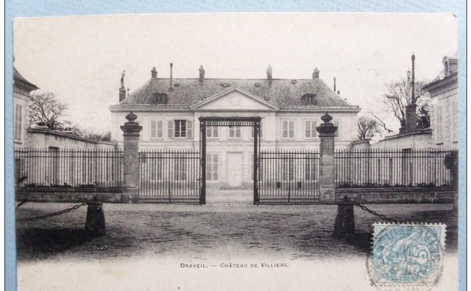 chateau de villiers draveil exposition sculpture chene d'antin