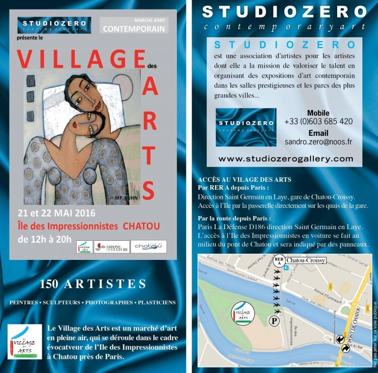 village des arts chatou 2016